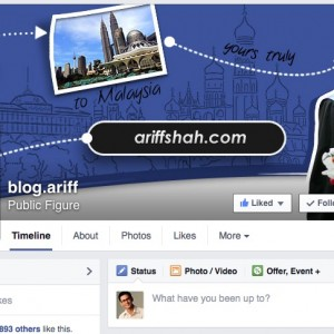 ariff shah facebook page