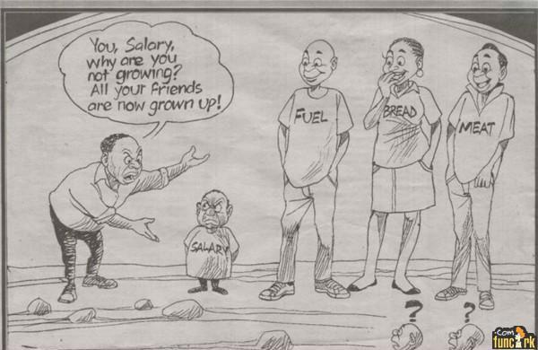 gaji rendah