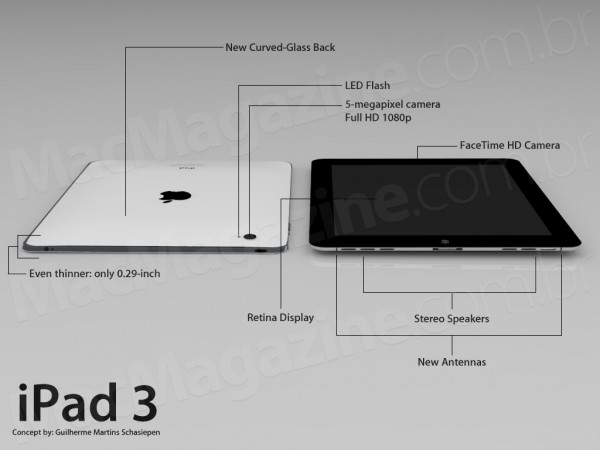 ipad 3 mock up