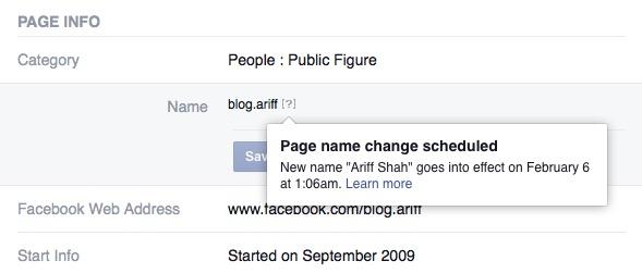 tukar nama page facebook -3